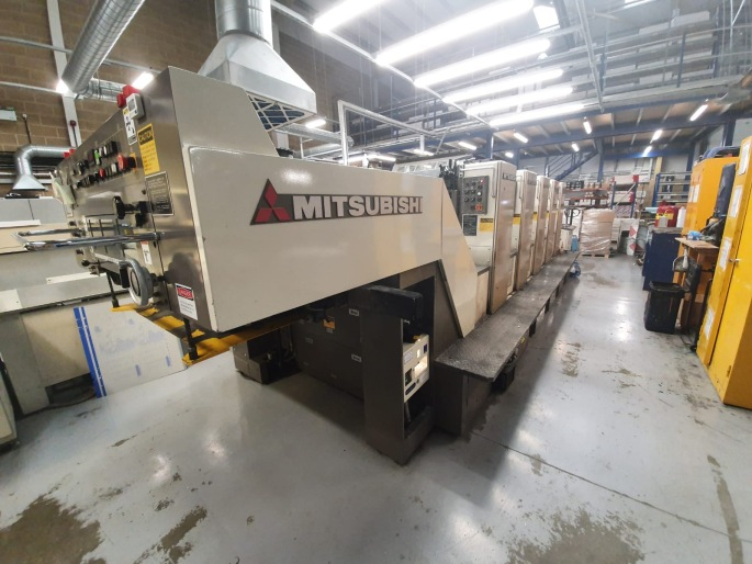 Mitsubishi 5 Colour B2 press